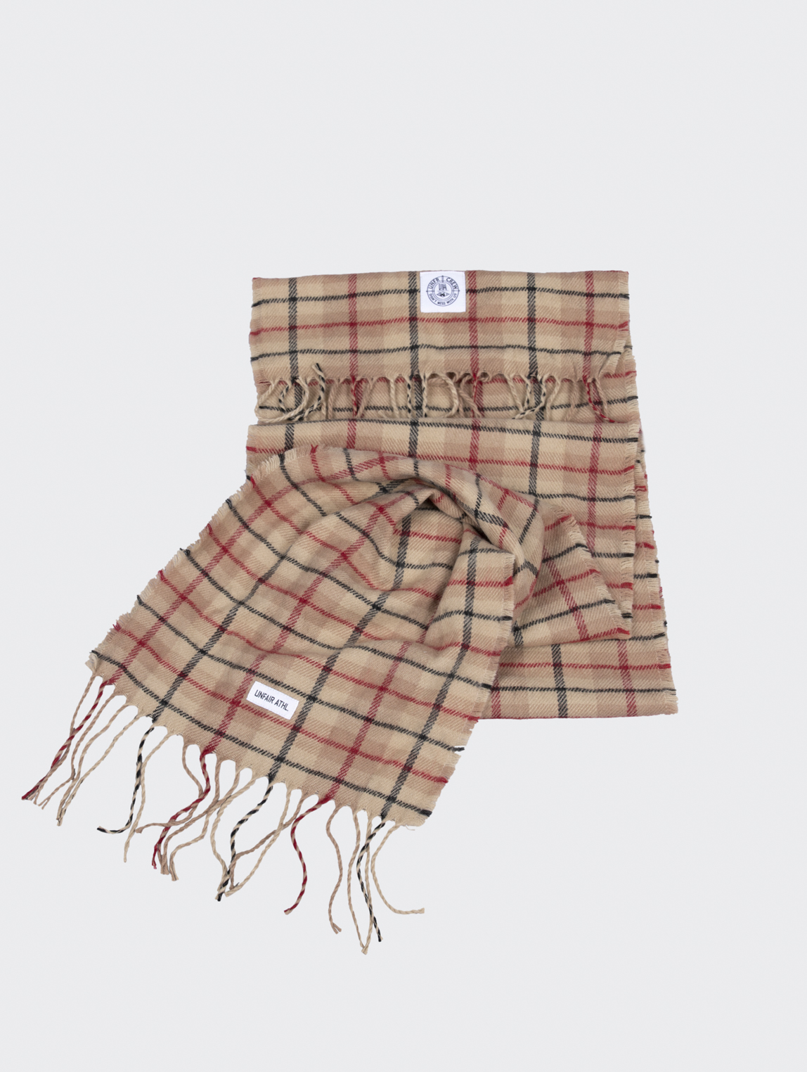 Unfair Check Scarf