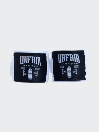 Unfair Boxing Hand Wraps White