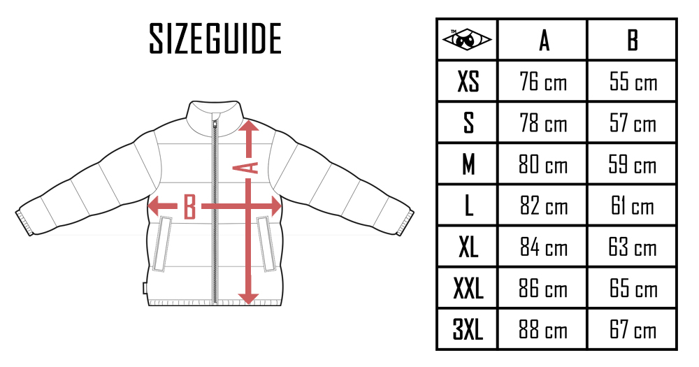 Sizeguide Down Jacket